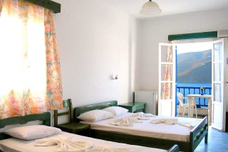 accommodation pelagos hotel bedroom