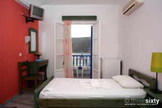 accommodation pelagos hotel room