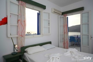 accommodation pelagos hotel sea view room