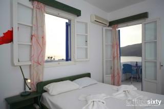 accommodation pelagos hotel sea view room