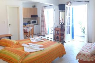 aegeon pelagos hotel bedroom - 10